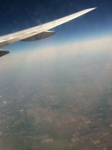 This was my first view of America on the plane. I was somewhere over the midwest I believe.