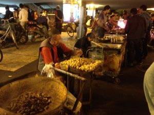 Kunming had a ton of amazing street food. Potatoes were a popular snack (but unfortunately served spicy most of the time.)