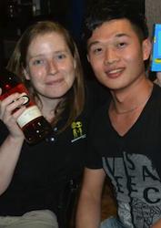 Me and Liu