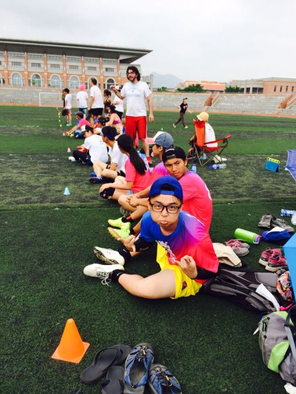 Ultimate Frisbee in China