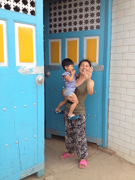 Tang (seen here holding someone else's kid) and her husband opened this hostel recently and it was my favorite stay of the trip. The place was spotless, their dog well behaved and everyone was so cool. I don't usually talk about hostels on my blog, but this one was worth it.