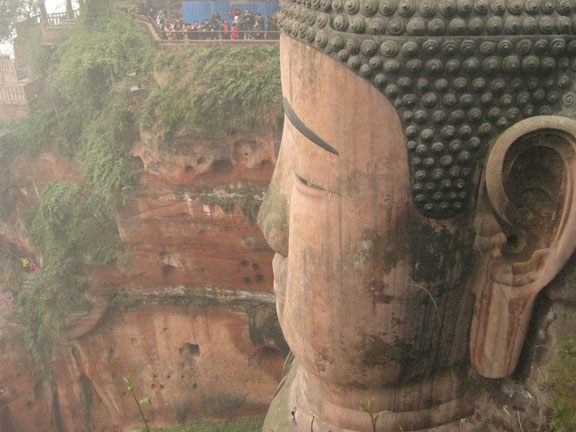 Leshan Big Buddha, Sichuan, China