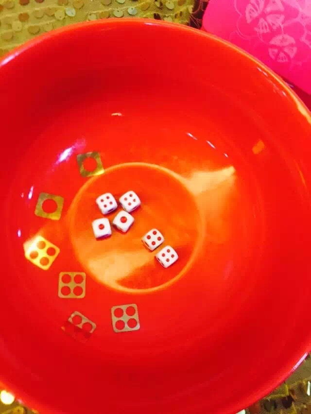 Who knew just a few dice and a bowl could be so fun.