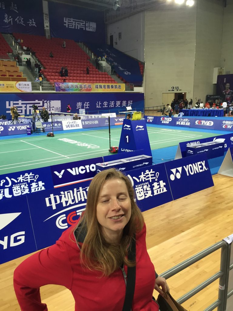 At a recent professional badminton game I asked my friend to take a picture of me standing in front of the court. I was thinking it would be a great profile picture for my badminton site. As it was my friend who took the picture, I trusted her and didn't check. When I finally looked, long after we were out of the stadium, I freaked out at my poor friend. But really I have no one else to blame as I should have known better and checked immediately.