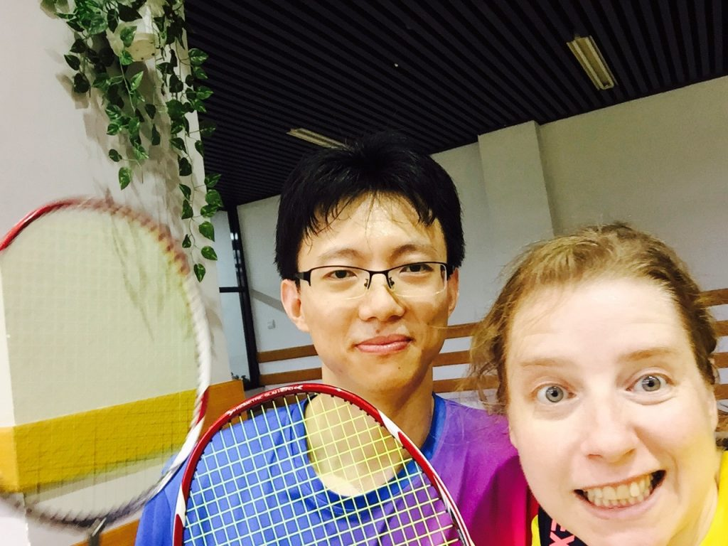 badminton in China